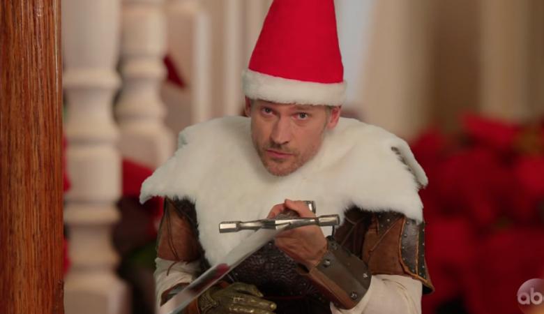 Звезда «Игры престолов» снялся в забавном новогоднем ролике