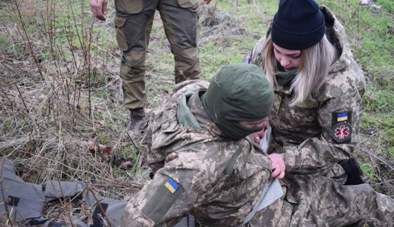 В зоне АТО за сутки ранение получил один боец ВСУ – штаб