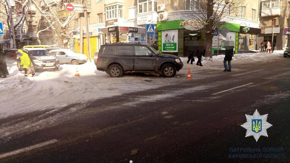 На Пушкинской на пешеходном переходе сбит человек