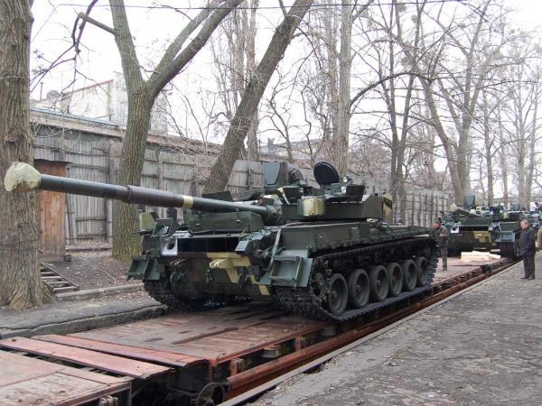Завод имени В.А. Малышева отправил новую партию танков