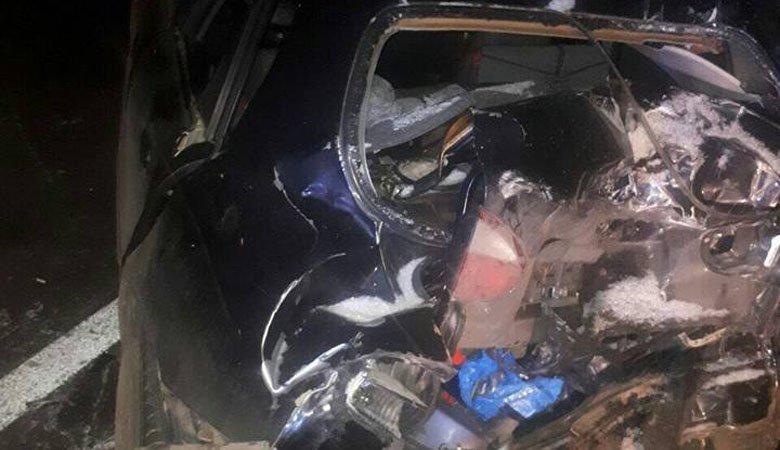 На окружной дороге произошло ДТП с тремя пострадавшими