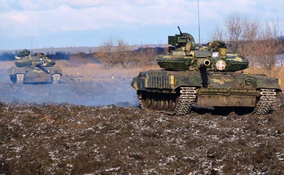 В зоне АТО в результате обстрелов ранены два украинских бойца