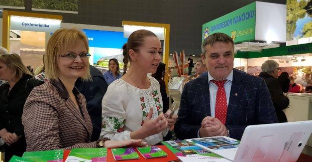 Харьковчане участвуют в туристической выставке в Чехии