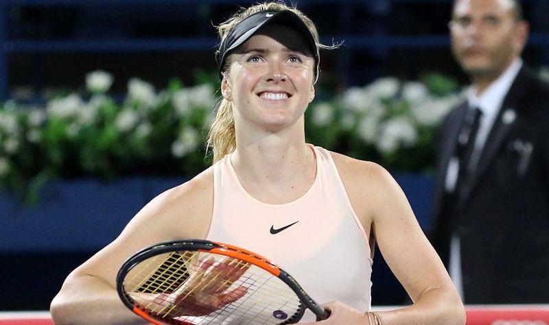 Элина Свитолина во второй раз выиграла турнир в Дубае