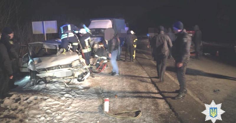 На Окружной дороге столкнулись три автомобиля (Фото)