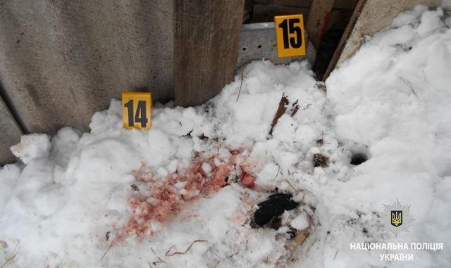 ВХарьковской области сын убил мать изакопал еетело водворе