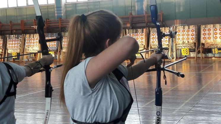 В Школе высшего спортивного мастерства стартовали всеукраинские соревнования по стрельбе из лука
