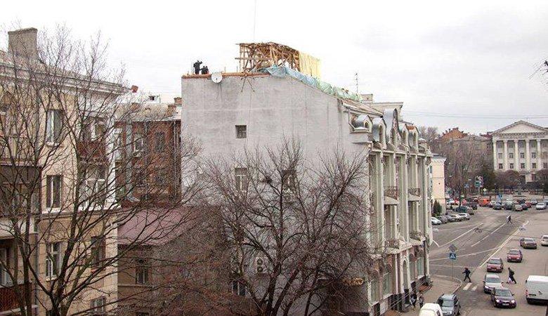 ХОГА требует остановить незаконную реконструкцию здания на улице Пушкинской, 19 — Бабичев