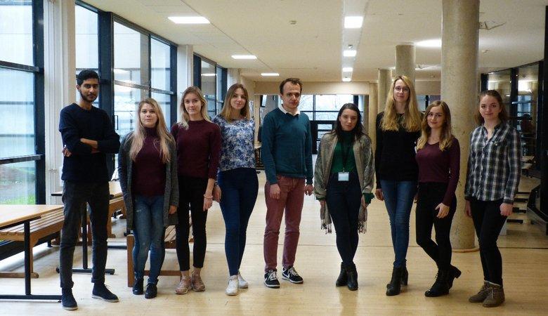 Харьковские студенты отправились на обучение в университет города Лимож