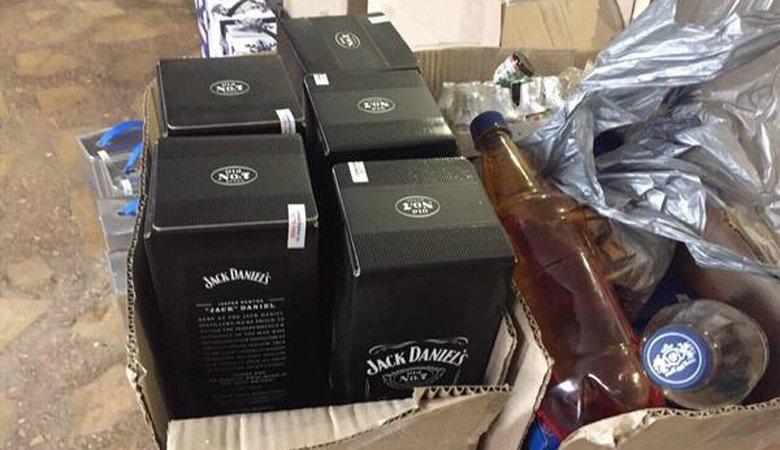 Правоохранители обнаружили цех по производству суррогатного алкоголя
