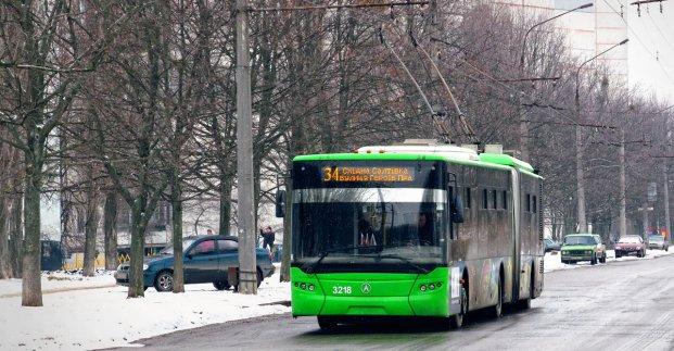 Троллейбус №34: новые изменения маршрута