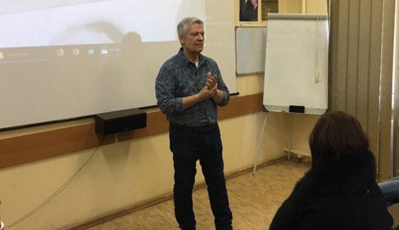 Американский кинематографист Бен Мозес встретился со студентами ХНУ им. Каразина (ВИДЕО)