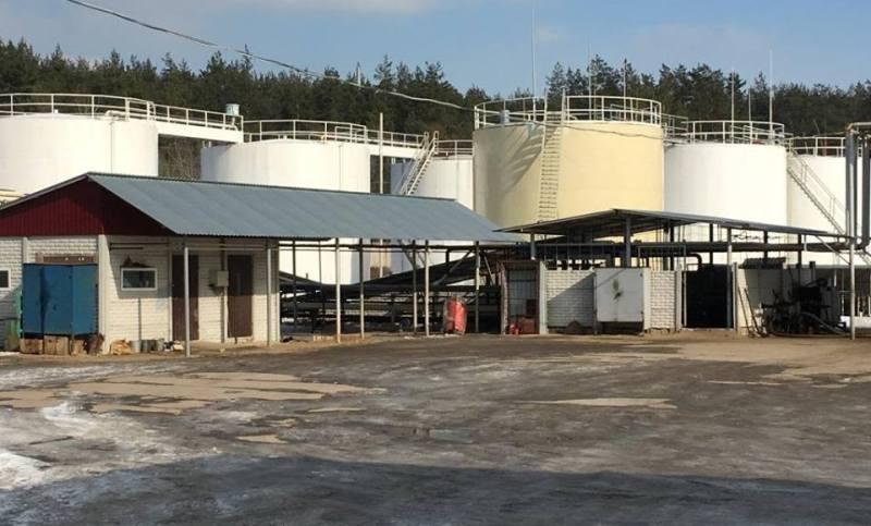 Обнаружен подпольный завод по производству ГСМ