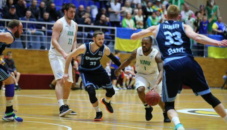 «Химик» и«Днепр» сыграют вфинале Кубка Украины— Баскетбол