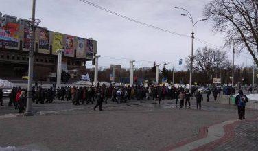 """""""Марш за импичмент"""" в Харькове собрал меньше участников, чем полицейских, которые его охраняли – реакция харьковчан на акцию"""