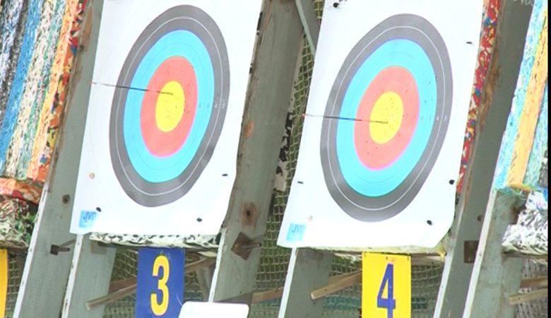 В манеже «ХАИ» состоялся «Турнир сильнейших» по стрельбе из лука (ВИДЕО)