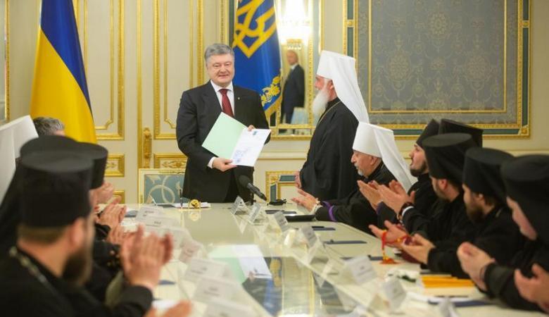 Порошенко провел встречу с предстоятелями православных церквей Украины