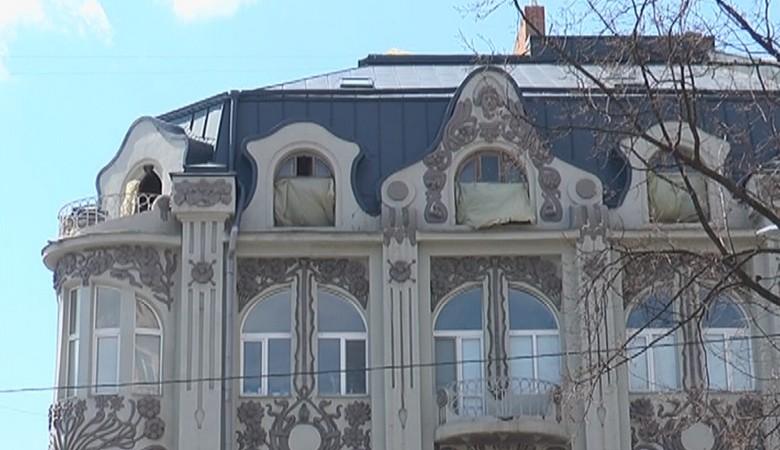 Дом Гинзбурга на Пушкинской продолжают разрушать (ВИДЕО)