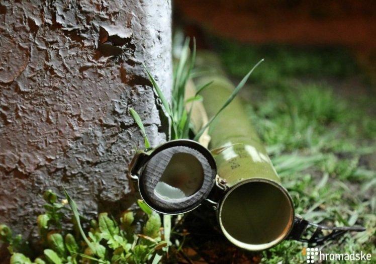 В Киеве из гранатомета обстреляли здание крупной компании