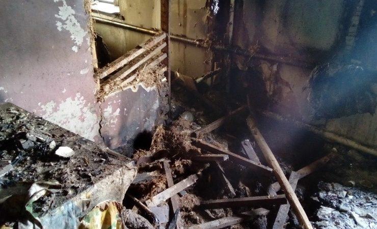 В Балаклее на пожаре погиб человек