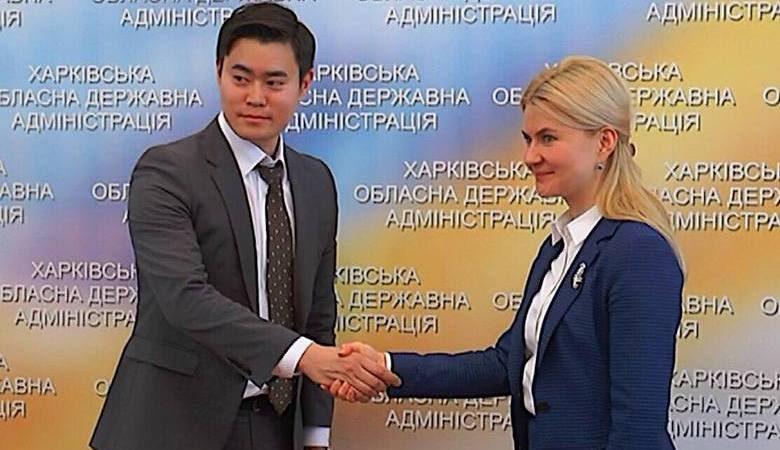 Делегация компании «Hyundai Corporation» 6 марта посетила Харьков