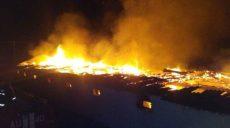 На Харьковщине сгорела птицеферма