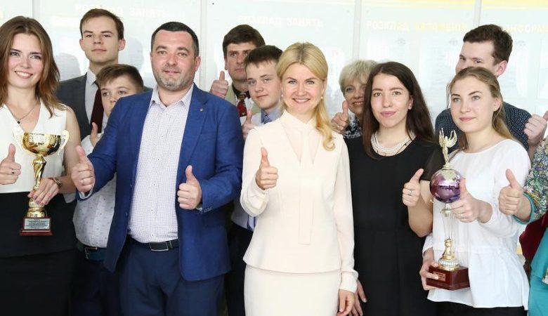 Светличная вручила призы юным банкирам Харьковщины