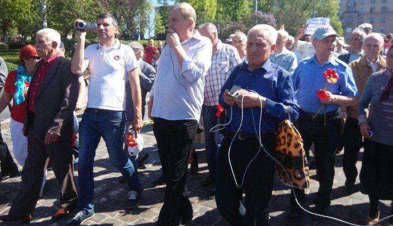 ВХарькове «напали» на приверженцев 1мая: появилось фото