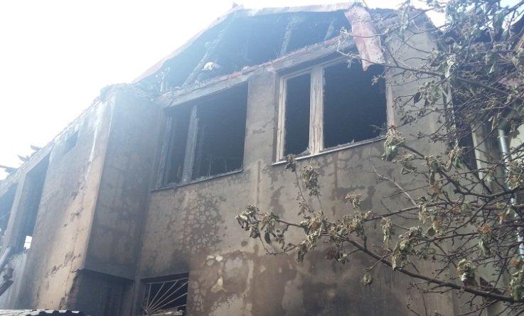 В садовом обществе «Караван» произошел пожар