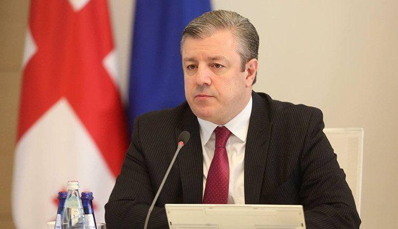 Премьер-министрГрузииГеоргий Квирикашвили подал в отставку