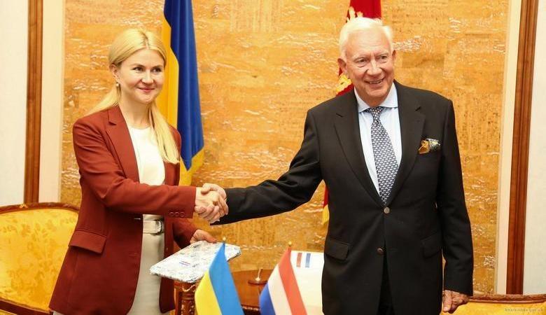 Глава ХОГА провела встречу с послом Королевства Нидерланды в Украине (видео)