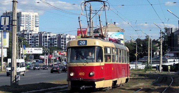 Изменено движение трамваев