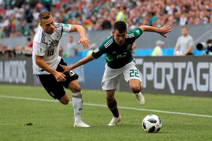 Германия начала играть на чемпионате мира по футболу с поражения