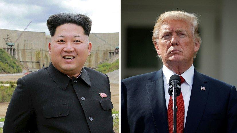 Трамп встречается с Ким Чен Ыном в Сингапуре