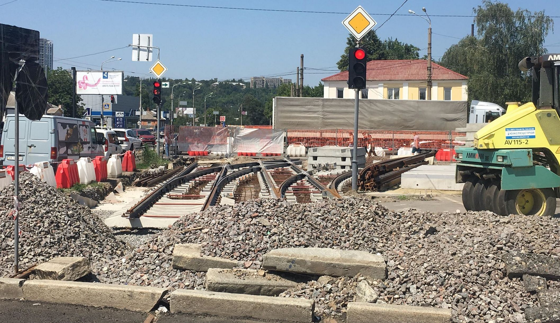 Перекресток улиц Шевченко и Матюшенко будет временно закрыт (фото)