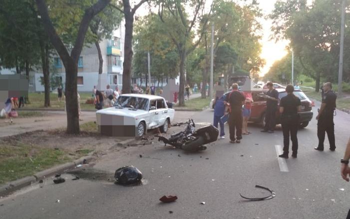 В Харькове погибли два мотоциклиста — подробности ДТП