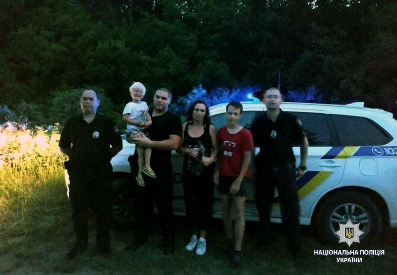 Найдены дети, которые потерялись в лесу под Харьковом