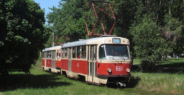 В Харькове временно не будет ходить 16-й трамвай