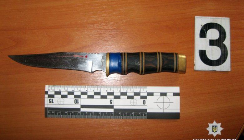 54-летний житель Харьковщины порезал мать ножом