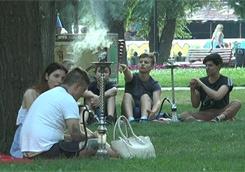 Ремонт сквера «Стрелка» поможет выдворить с травы кальянщиков – мэр Харькова