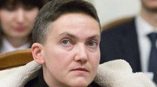 Савченко снова объявила голодовку из-за продления ареста