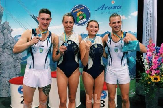 Харьковчанин завоевал «серебро» на Кубке мира по прыжкам на батуте