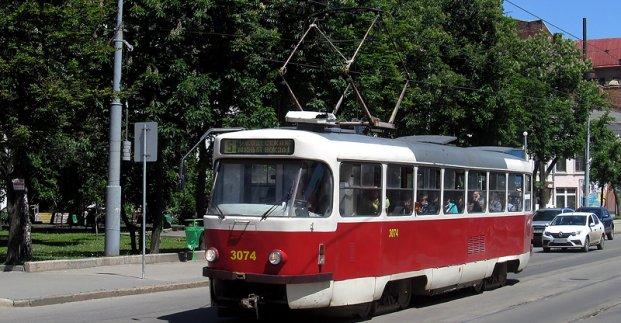 Меняется маршрут трамваев в районе Одесской