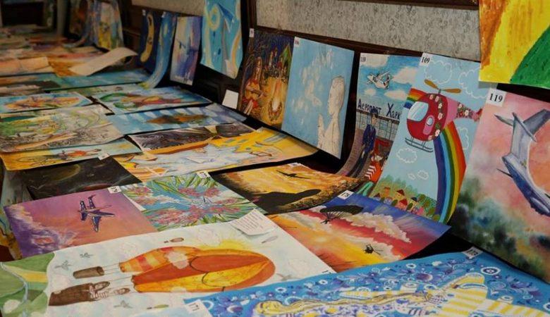 На Харьковщине определили победителей конкурса детского рисунка «Наше мирное небо» (видео)