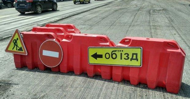 На 5 дней ограничивается движение на улице Морозова — на разных участках дороги