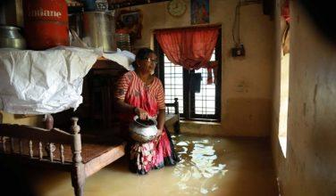 В Индии произошли самые страшные наводнения за последние 100 лет