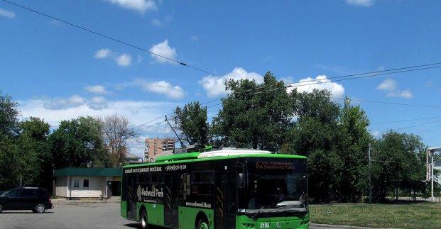 На один день меняется маршрут троллейбуса №6