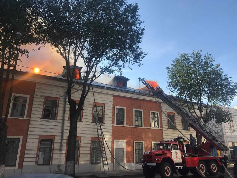 Пожар в академии локализован — Лупандин