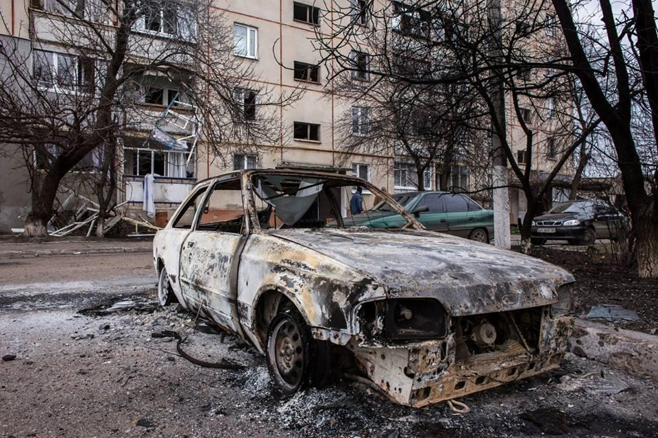 Житель Балаклеи получит компенсацию за уничтоженное снарядами авто