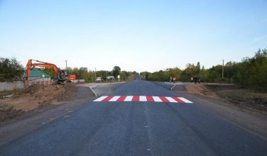 На Харьковщине продолжаются масштабные ремонты дорог